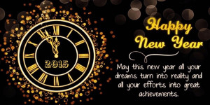 Happy New Year 2015 - Celebrations and Events on New Year Day