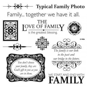 Family Love Quotes Scrapbooking It's called family love