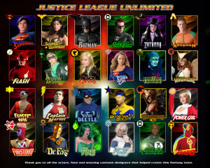 justice league unlimited wallpaper superhero fan art