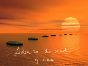 Listen To The Sound of Silence: Famous Inspiring Quotes
