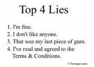 Top 4 lies Real quotes about life, quotes about life