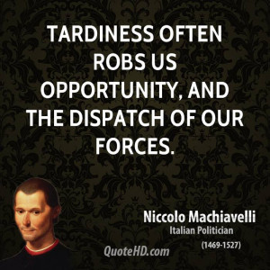 Quotes From Niccolo Machiavelli