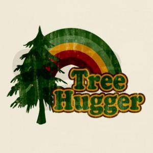 ... gifts retro rainbow mens funny earth day tree hugger light t shirt