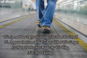 Paths Are Made By Walking