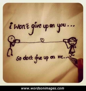 Love You I Won 39 t Give Up On