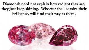 Diamonds quote via www.brandomnipresence.com
