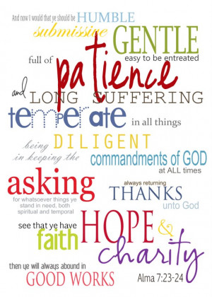 Lds Scripture Quotes Pictures