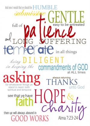Lds Scripture Quotes Pictures