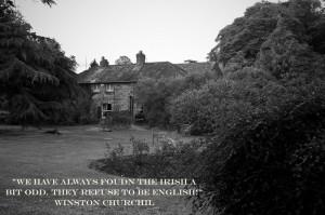 Irish quote.