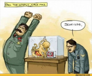 Paul the octopus / funny pictures :: stalin :: octopus :: Hitler ...