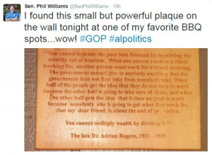 PHOTO: Quote on Wall of Small-Town BBQ Joint Is Going Viral... And You ...