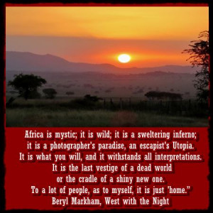 African Safari Inspirations – Safari Quotes and Sayings