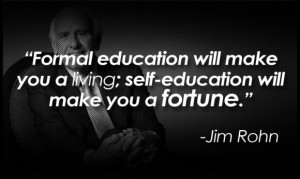 The next of Jim Rohn quotes that are particularly impacting is dealing ...