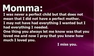 Missing Mother Quotes | small quotes and sayings for my MOM More