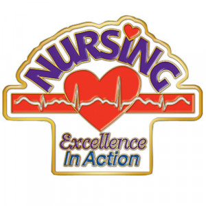 Nursing Excellence In Action Lapel Pin