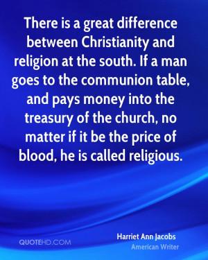Harriet Ann Jacobs Religion Quotes