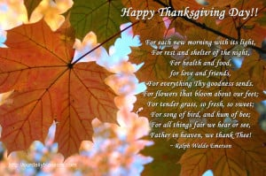 Happy Thanksgiving: Gather Here with Grateful Hearts