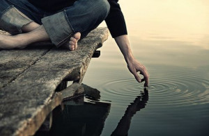 "... kindness. Every act creates a ripple with no logical end."" ~Scott"
