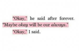 Augustus Waters The Fault In Our Stars Quotes always augustus waters ...