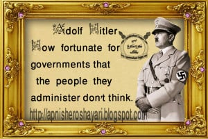 adolf hitler quotes on administration government