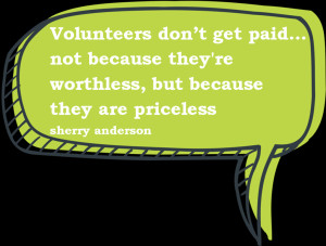 Volunteer Thank You Quotes A quote used in tracey's