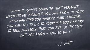 Watt Quote About Work