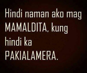 tagalog quotes for enemy quotesgram
