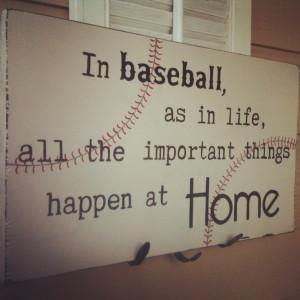 little baseball diamond in the backyard so we can play family baseball ...
