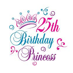 25th_birthday_princess_magnet.jpg?height=250&width=250&padToSquare ...
