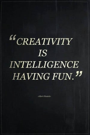 Einstein quote on creativity