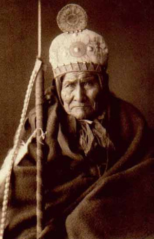 geronimo goyathlay one who yawns geronimo his own story videos quotes ...