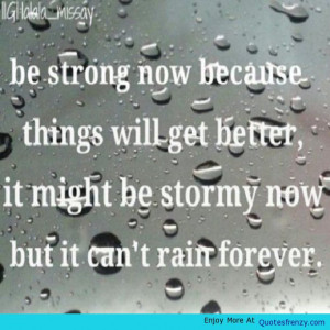 ... Quote Stormy Forever Life Love Sad Depressed Depression Quote