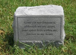 Epitaphs For Headstones The epitaph is read at a
