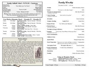 Bulletin Hampton Roads Seventh-day Adventist Church by sdfgsg234
