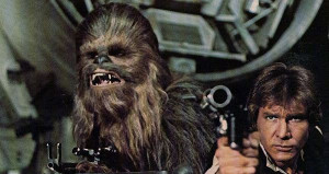 ... lines in Star Wars , but they're wrong. Chewbacca had the best lines