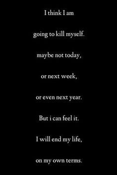 Black and White tumblr text depressed depression suicidal suicide ...
