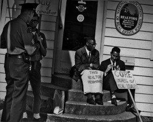 Fair housing protest in Seattle, WA, 1964; credit: Seattle Municipal ...