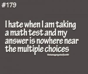 Math Quotes Tumblr I hate math quotes