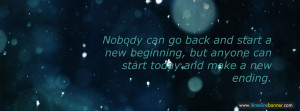 New Beginning Facebook Timeline Cover