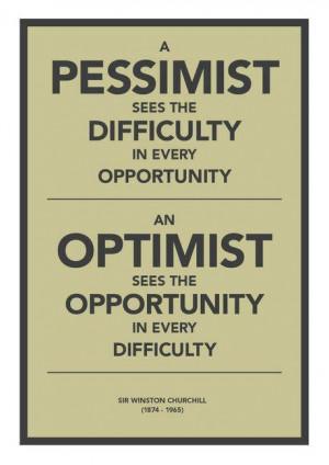 winston churchill, quotes, sayings, pessimist, optimist, deep ...