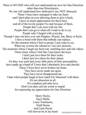 Official Directioner - quotes