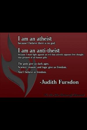 atheist #anti-theist #atheism