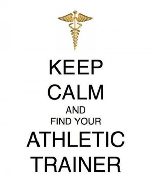 Woodall's Law: Keep Calm and Find Your Athletic Trainer
