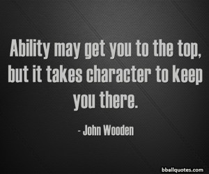 John Wooden Basketball Quotes