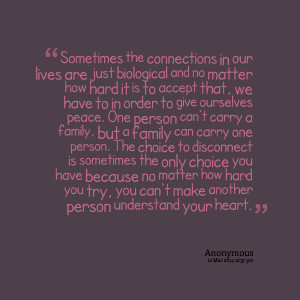 Quotes Picture: sometimes the connections in our lives are just ...