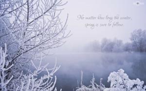 Winter Scene Quotes