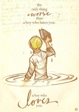 ... boy who hates you a boy who loves you the book thief markus zusak