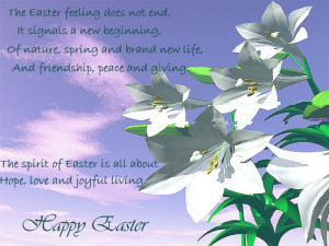 The Easter Feeling Does Not End. It Signals A New Beginning, Of Nature ...