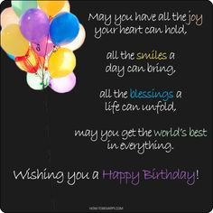 Happy Birthday Inspirational Quotes – 21 Birthday Wishes More