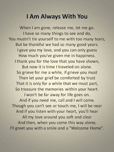 To my granddaughter... Keep this till the time comes... I love you ...
